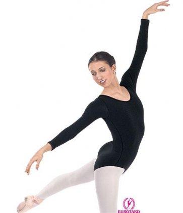 Women'sCotton/Lycra Long Sleeve Leotard