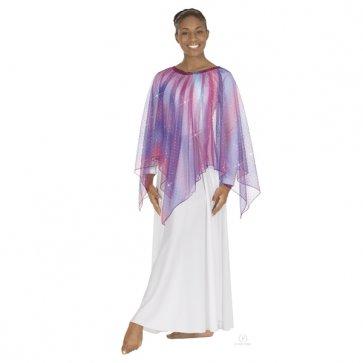 Adult Sparkle Tulle Handkerchief Overlay