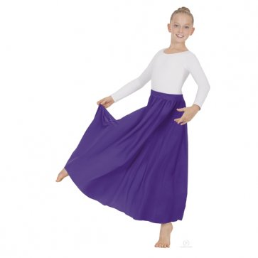 Purple Liturgical Circle Skirt