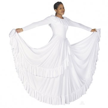 Revelation Worship Dance Dress - White