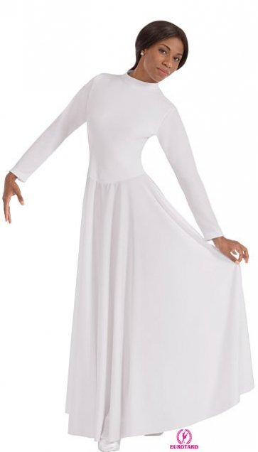 High Neck Liturgical Dance Dress