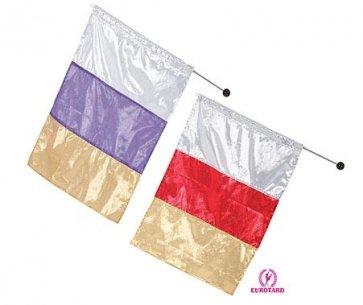 Metallic Tricolor Praise Flag