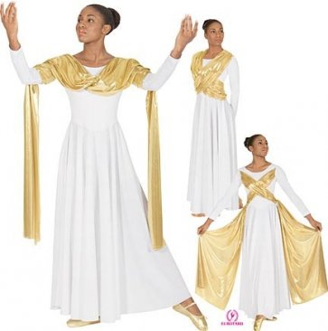 Liturgical Dance Overlay Dress