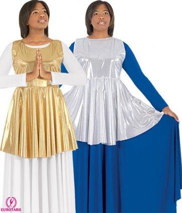 Peplum Worship Tunic