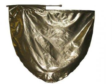 Tissue Lame Fan Flag