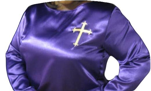 Satin Liturgical Praise Dance Shirt