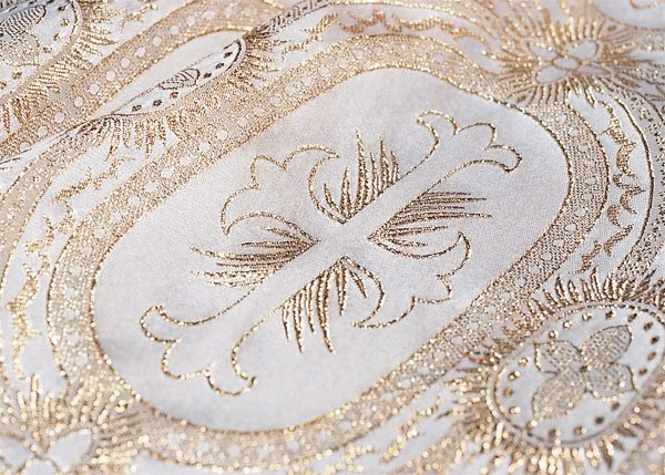 Ecclesiastical Brocade Pattern E47