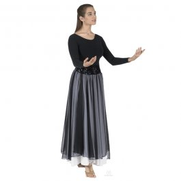Sheer Devotion Skirt Overlay