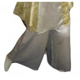Satin Wide Legged Pant