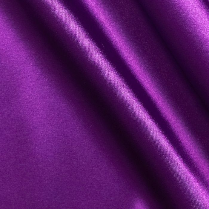 Purple Poly Satin