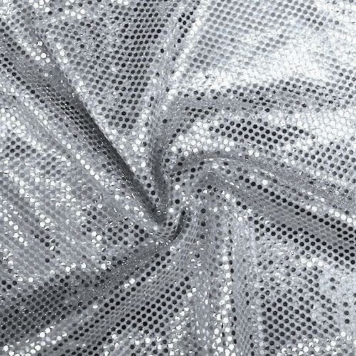 Silver SequinDot